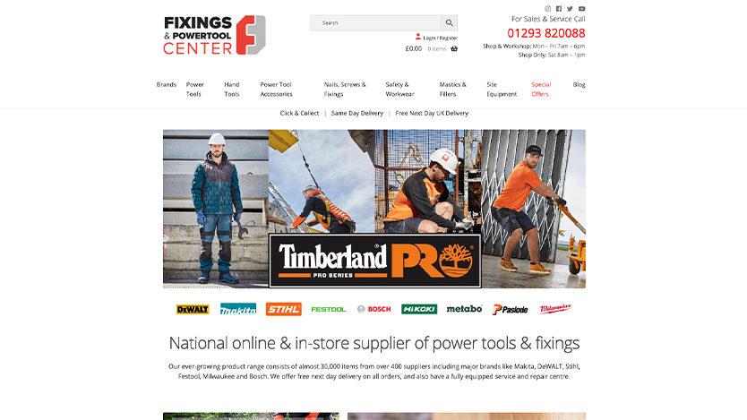 Fixing & Powertool Centre